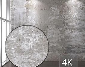 3D asset Concrete wall 119