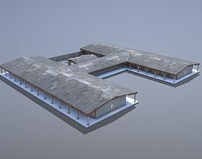 MilitaryBase PortoVelho Barracks 01 3D asset