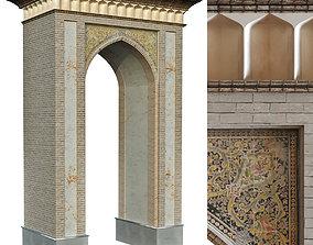 old turkish arch set 139 3D model