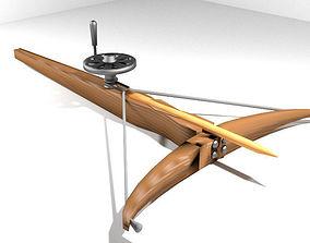 Crossbow - Medieval Type 3 3D model