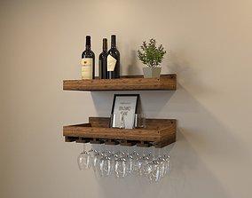 3D model Decoration Wine Set 001