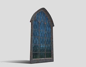 3D asset game-ready Generic Church Window