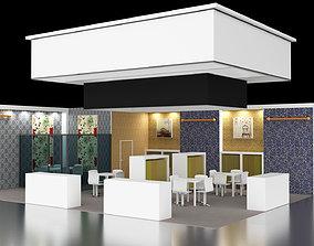 3D model Exhibition 3 Stand Design