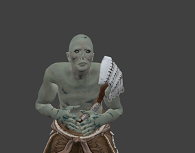 3D animated Ghost