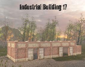 3D model Industrial Building 17