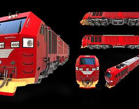 3D model Train Locomotion Locomotive CC300 Indonesian