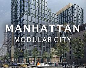 Manhattan - Modular City - Unreal Engine UE4 3D model