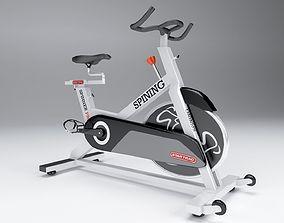3D model Star track spinning bike