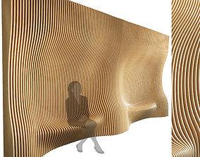 Parametric wall 006 3D