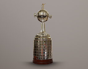 3D asset Copa Libertadores trophy
