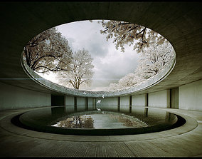 Tadao Ando -Naoshima Art Museum - The Third and animated 4