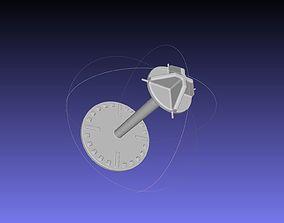 Spacecraft Visual Docking Indicator Target Principle