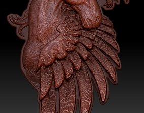 Pegasus Relief 3D printable model