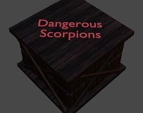 3D model Cargo of scorpions