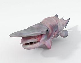 Goblin Shark 3D asset realtime