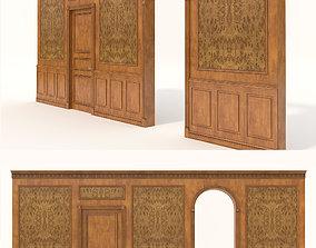 Classic Interior Wall Decoration 4 3D