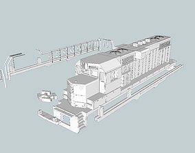 GP11 EMD Locomotive HO and N Scales 3D printable model