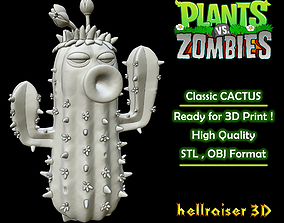 Plants vs Zombies - Classic 3D printable model