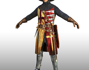 battle knight 3D model