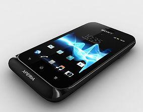 3D model Sony Xperia tipo