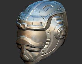 Sci Fi Helmet 3 3D printable model