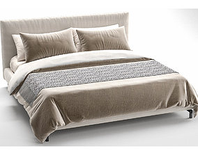 Minotti Andersen Bed 3D