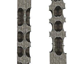 Gatehouse 01 Pillar 02 3D model