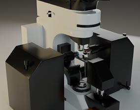 3D asset Fluorescence Microscope