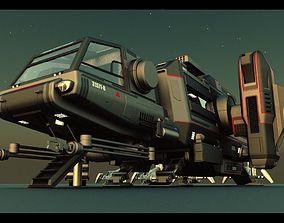 3D Warthog Class Heavy Assault Transport