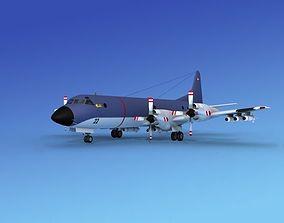 Lockheed P-3 Orion Royal Danish Hp 3D model