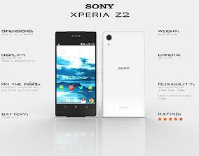 3D Sony Xperia Z2