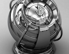 3D VRAY SHADER---METAL---Chromium