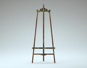 Easel 3D model PBR