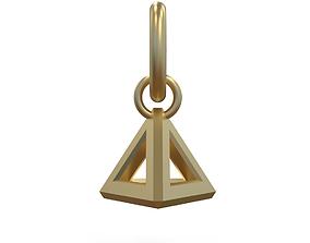3D printable model The Breakwater Tetrahedron pendant