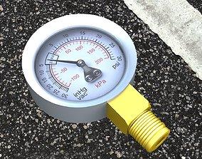 3D Pressure Gauge