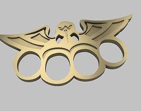 Eagle Brass Knuckles drawer handle 3D printable model