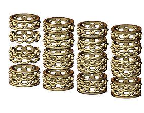 3D printable model Chunky chain ring