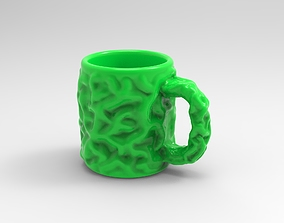 Tree Trunk Mug for 3D printing