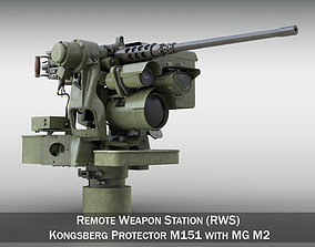 RWS M151 Protector with M2 3D model