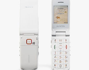 Alcatel One Touch 536 White 3D model