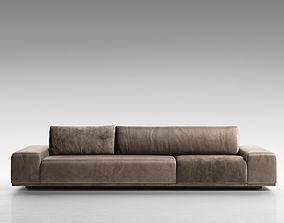 Monsieur Sofa soft 3D model