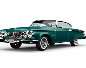 Plymouth Fury 1961 3D