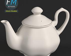 Porcelain teapot 2 3D