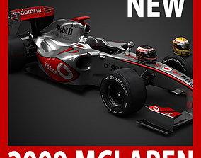 F1 2009 McLaren MP4-24 3D model