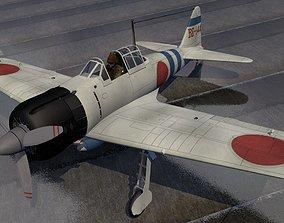 Mitsubishi A6M2 Zeke 3D model