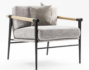 3D model Carbon Framed Chair