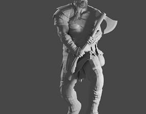 GOD OF WAR 4 - KRATOS 3D print model gametoys