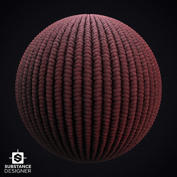 Wool Knit PBR Material
