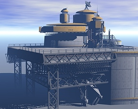 Processing Plant Station 3D