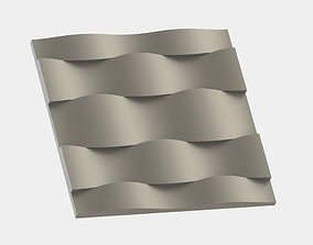 3D Wall Panel Wawes 2